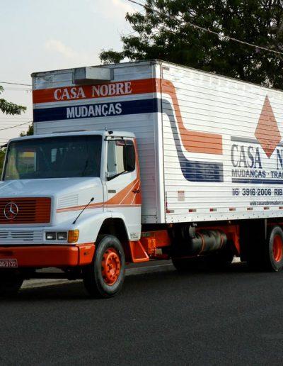 Caminhão da Casa Nobre - Mudança residencial em Ribeirão Preto